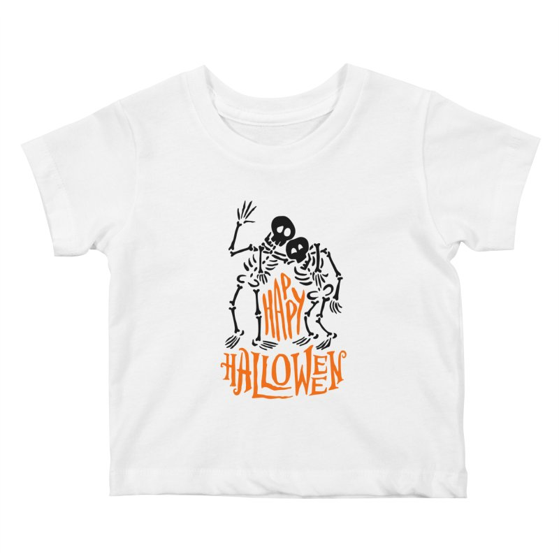 skeletons brothers  Kids Baby T-Shirt by artfanat.shop