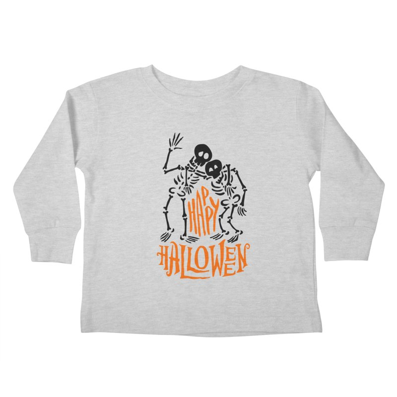 skeletons brothers  Kids Toddler Longsleeve T-Shirt by artfanat.shop