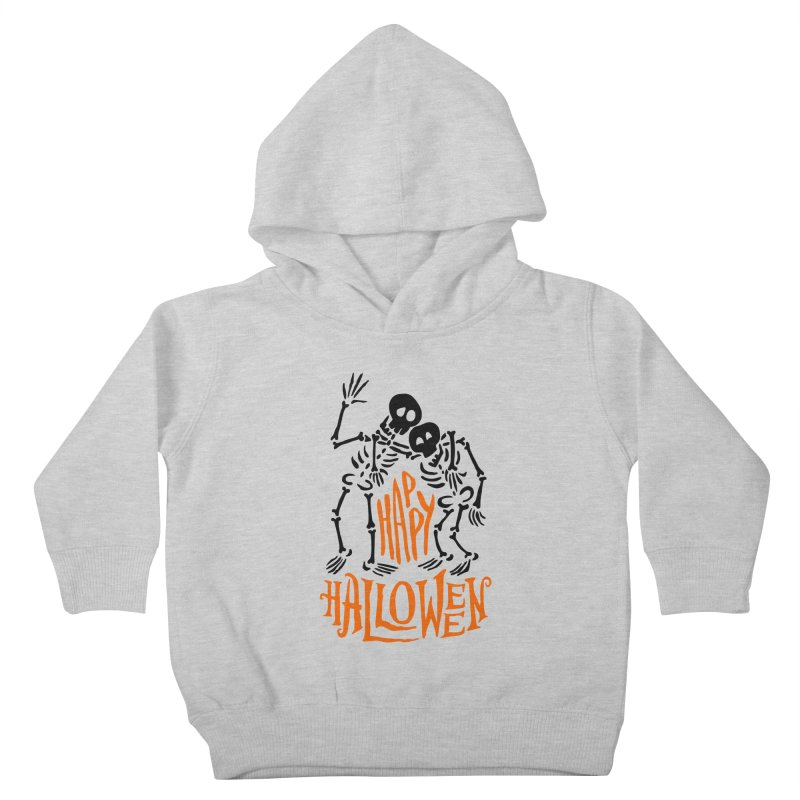 skeletons brothers  Kids Toddler Pullover Hoody by artfanat.shop