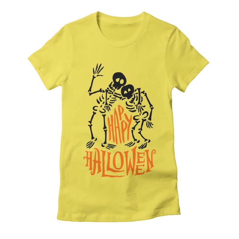 skeletons brothers  Women's T-Shirt by artfanat.shop