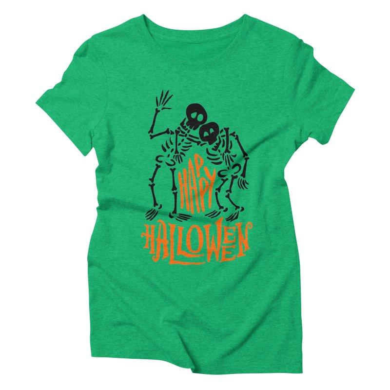 skeletons brothers  Women's Triblend T-Shirt by artfanat.shop