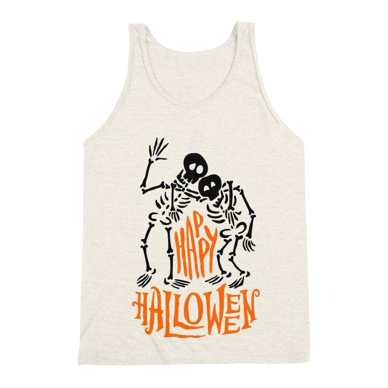 skeletons brothers  Men's Triblend Tank by artfanat.shop