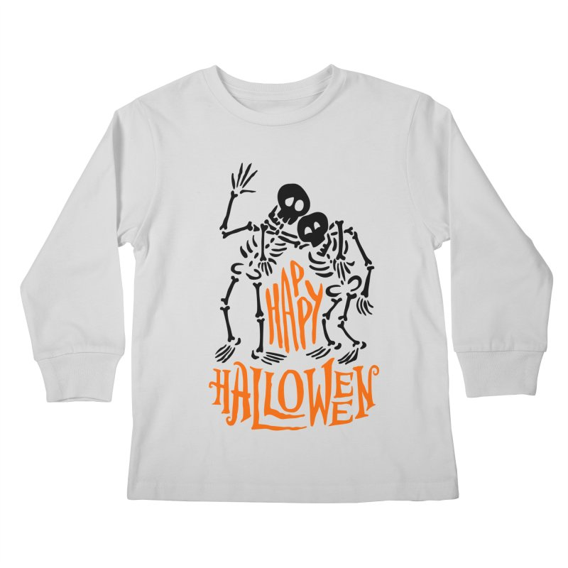skeletons brothers  Kids Longsleeve T-Shirt by artfanat.shop