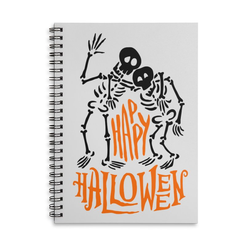 skeletons brothers  Accessories Lined Spiral Notebook by artfanat.shop