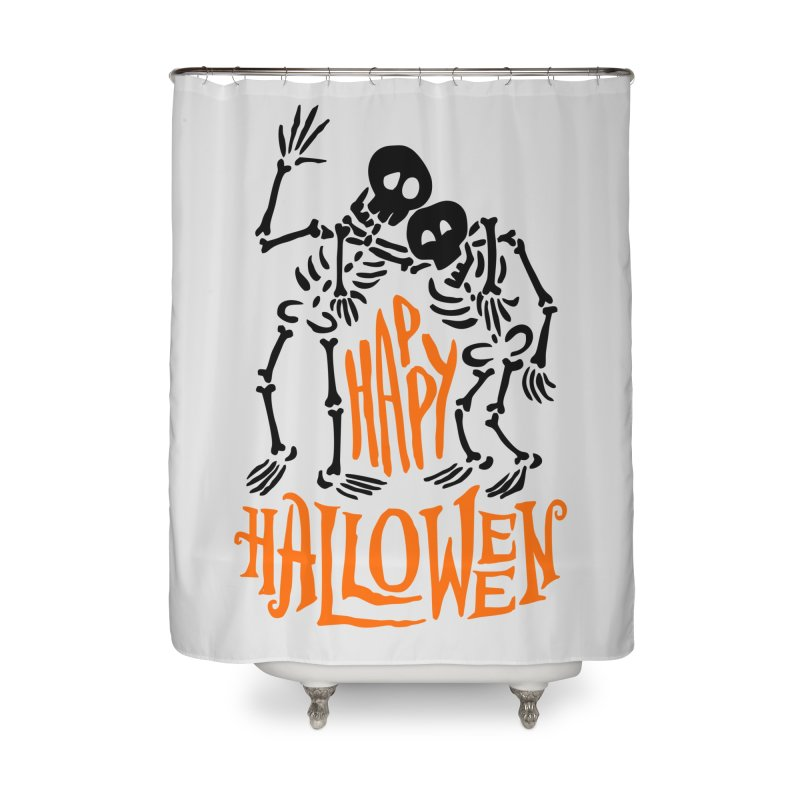 skeletons brothers  Home Shower Curtain by artfanat.shop