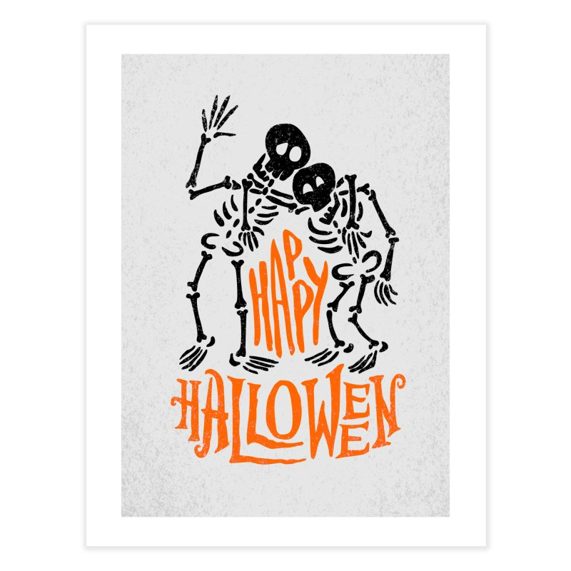 skeletons brothers  Home Fine Art Print by artfanat.shop