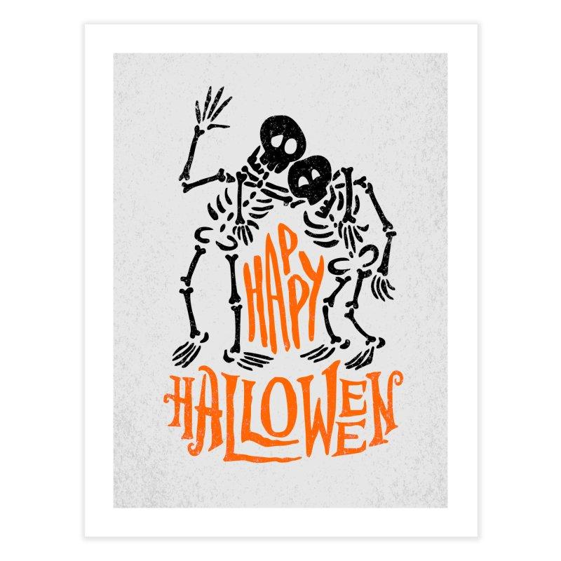 skeletons brothers  Home Fine Art Print by artfanat.shop