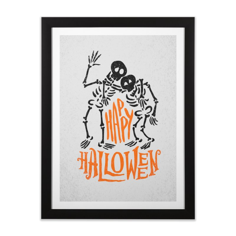 skeletons brothers  Home Framed Fine Art Print by artfanat.shop
