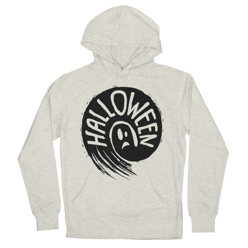 Ghost Women's French Terry Pullover Hoody by artfanat.shop