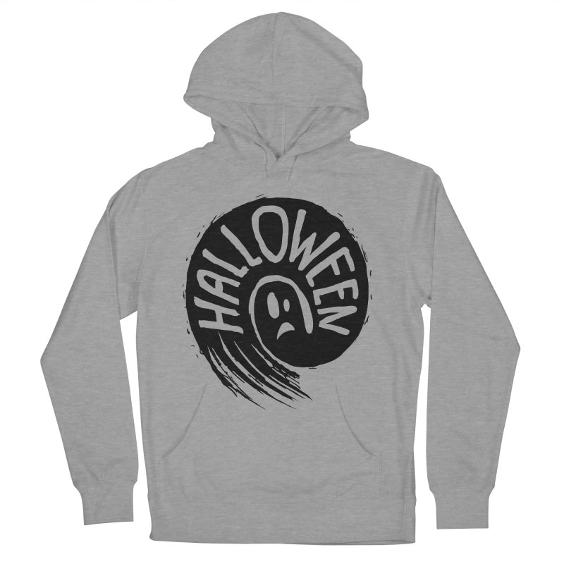 Ghost Men's French Terry Pullover Hoody by artfanat.shop