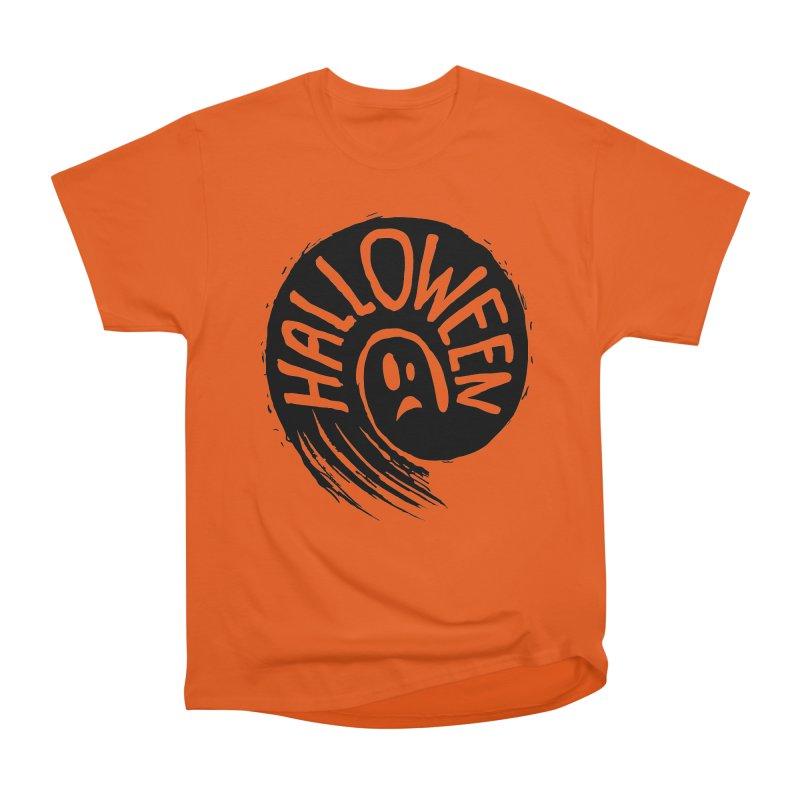 Ghost Women's Heavyweight Unisex T-Shirt by artfanat.shop