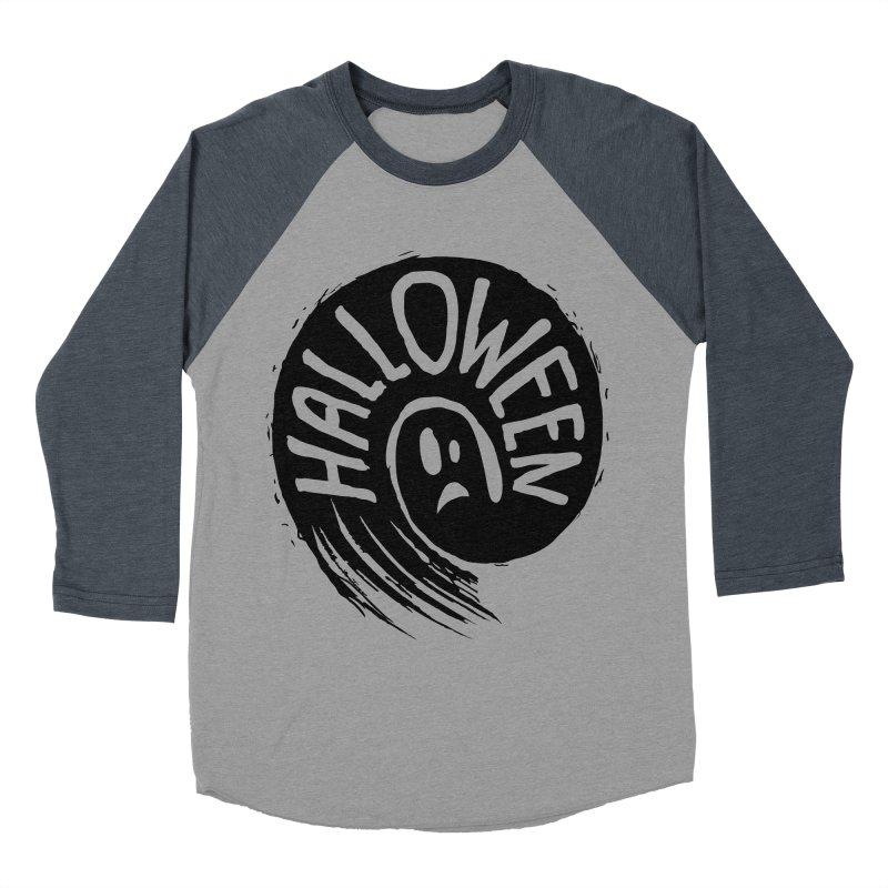 Ghost Men's Baseball Triblend T-Shirt by artfanat.shop
