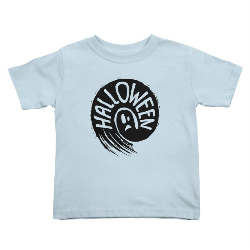 Ghost Kids Toddler T-Shirt by artfanat.shop