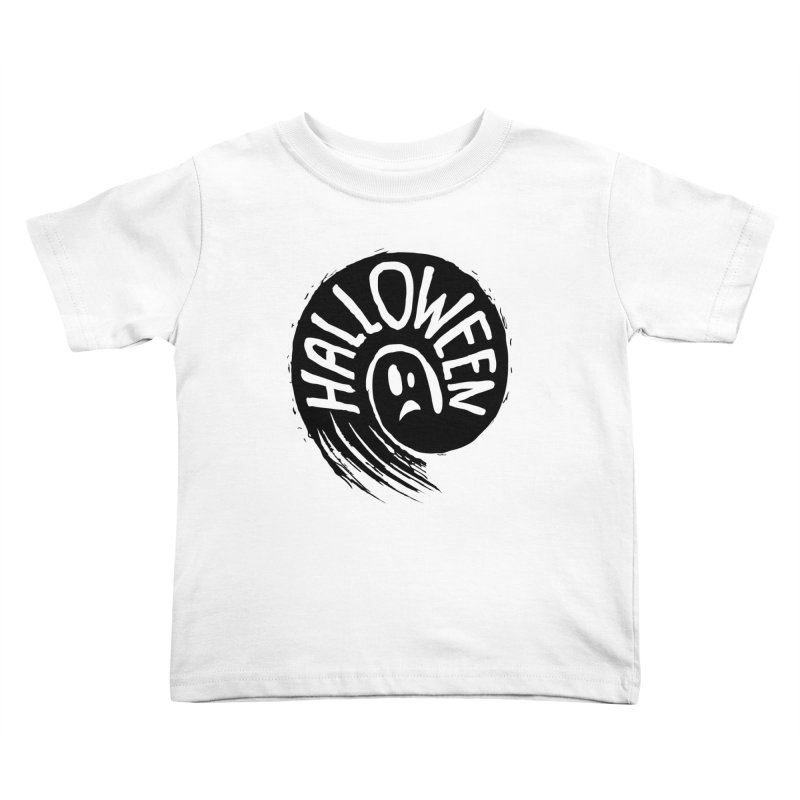 Ghost Kids Toddler T-Shirt by artfanat.shop