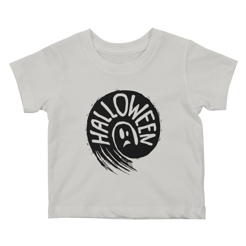 Ghost Kids Baby T-Shirt by artfanat.shop