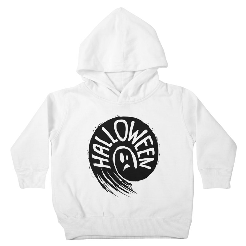 Ghost Kids Toddler Pullover Hoody by artfanat.shop