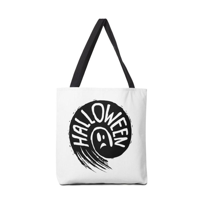 Ghost Accessories Bag by artfanat.shop