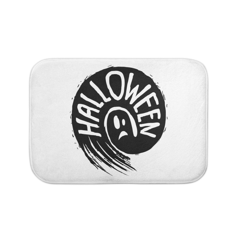 Ghost Home Bath Mat by artfanat.shop