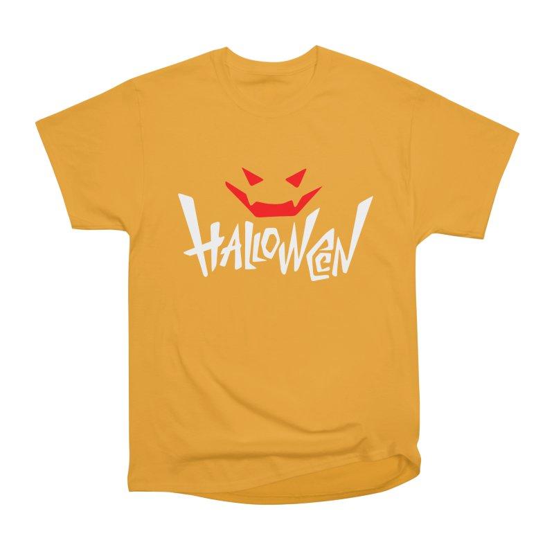 smile Women's Heavyweight Unisex T-Shirt by artfanat.shop