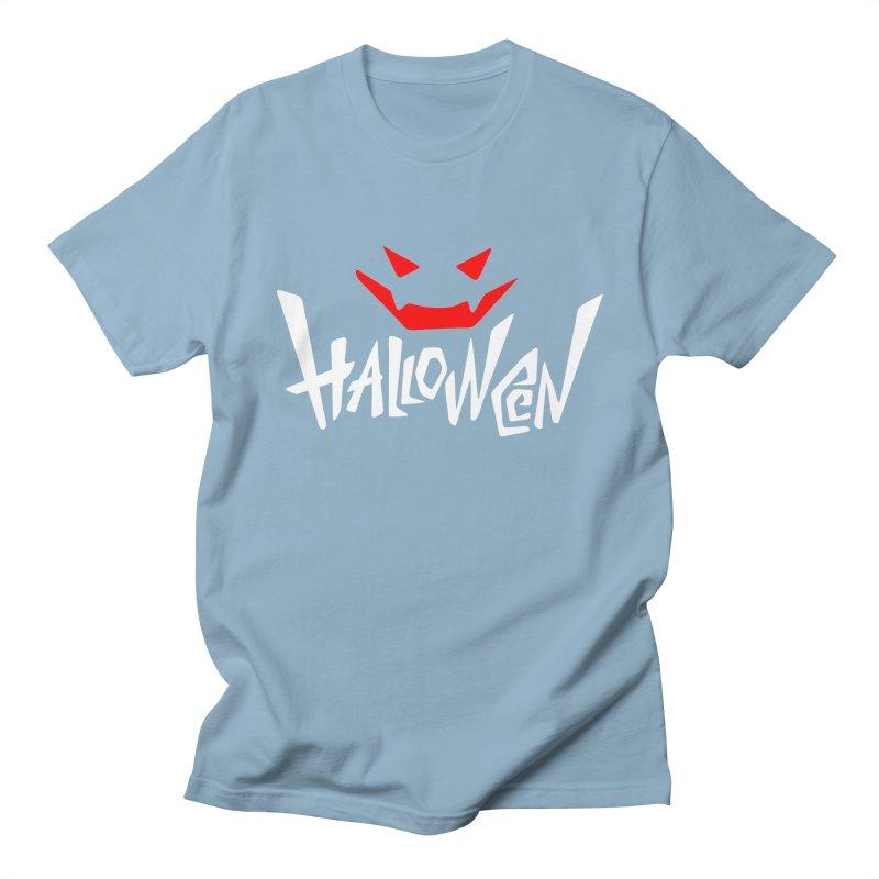 smile Men's T-Shirt by artfanat.shop