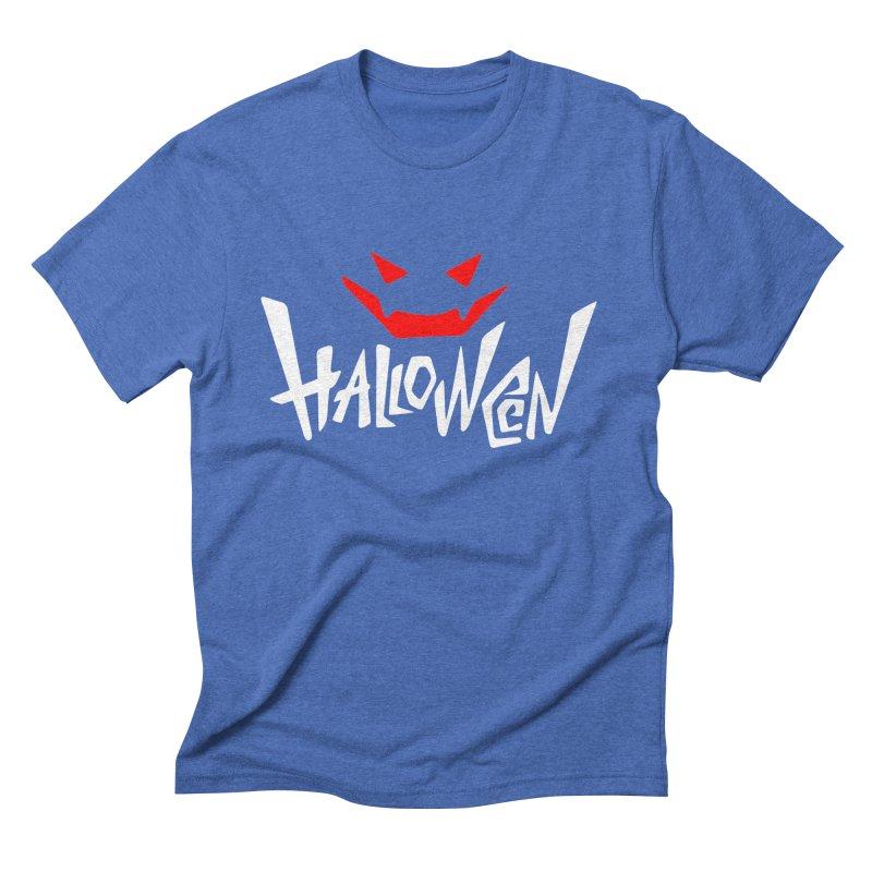 smile Men's Triblend T-Shirt by artfanat.shop