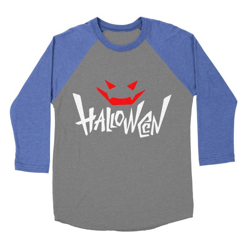 smile Men's Baseball Triblend Longsleeve T-Shirt by artfanat.shop