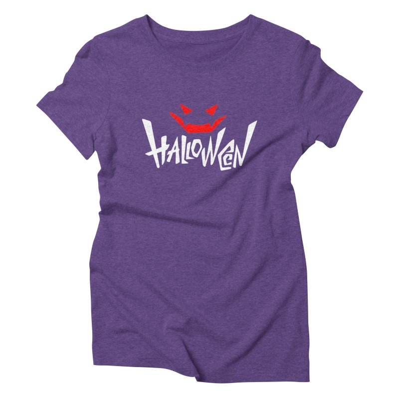 smile Women's Triblend T-Shirt by artfanat.shop