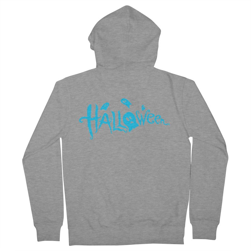 Ghost Men's French Terry Zip-Up Hoody by artfanat.shop