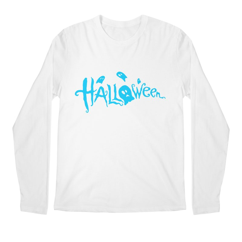 Ghost Men's Regular Longsleeve T-Shirt by artfanat.shop