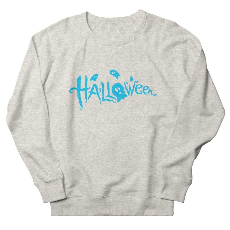 Ghost Women's French Terry Sweatshirt by artfanat.shop
