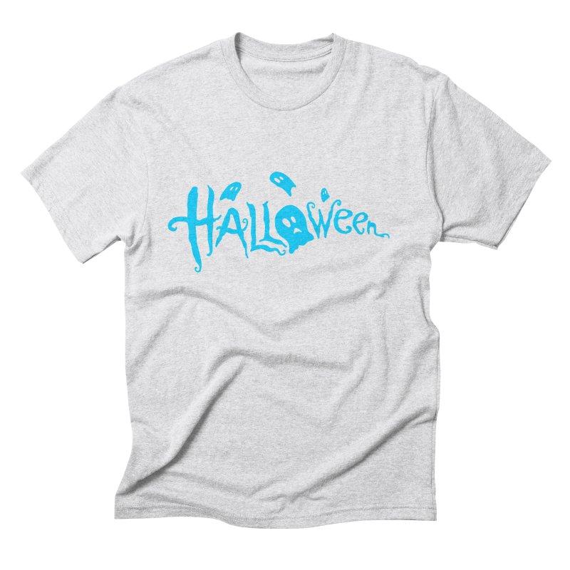 Ghost Men's Triblend T-Shirt by artfanat.shop