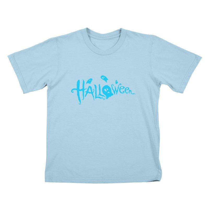 Ghost Kids T-Shirt by artfanat.shop