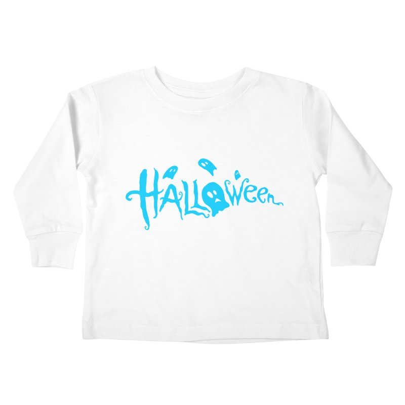 Ghost Kids Toddler Longsleeve T-Shirt by artfanat.shop