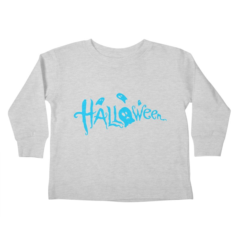 Ghost Kids Toddler Longsleeve T-Shirt by artfanat.shop