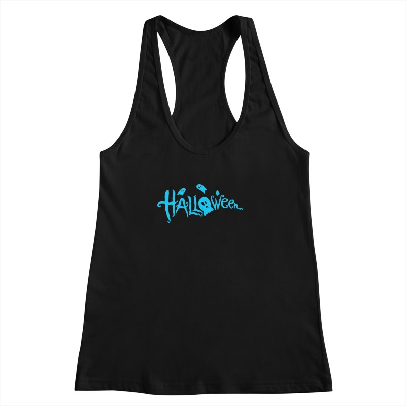 Ghost Women's Racerback Tank by artfanat.shop