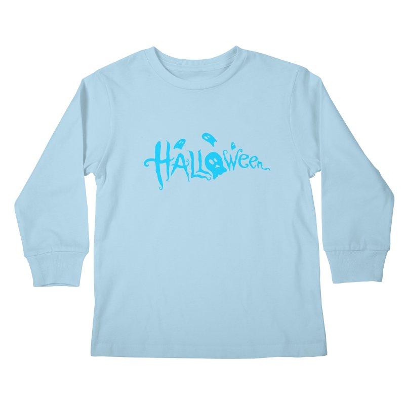 Ghost Kids Longsleeve T-Shirt by artfanat.shop