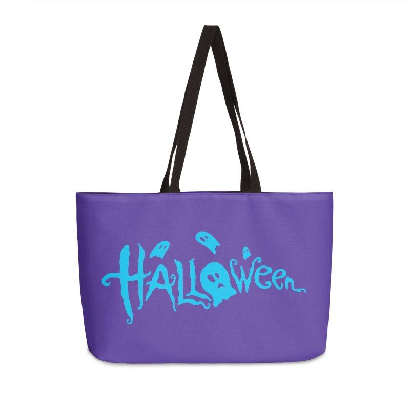 Ghost Accessories Weekender Bag Bag by artfanat.shop