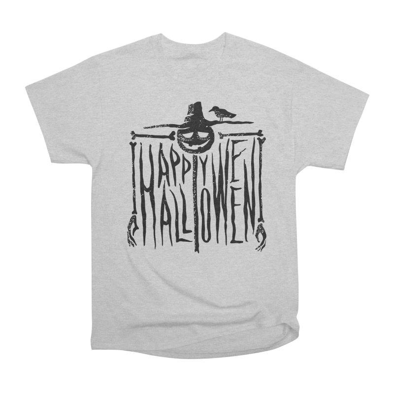 Scarecrow  Women's Heavyweight Unisex T-Shirt by artfanat.shop