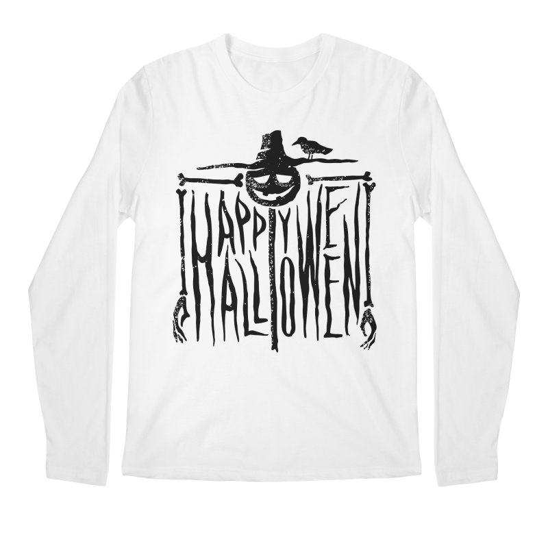 Scarecrow  Men's Longsleeve T-Shirt by artfanat.shop