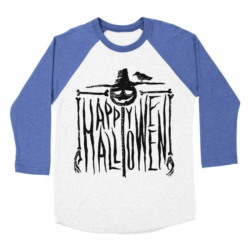 Scarecrow  Women's Baseball Triblend Longsleeve T-Shirt by artfanat.shop
