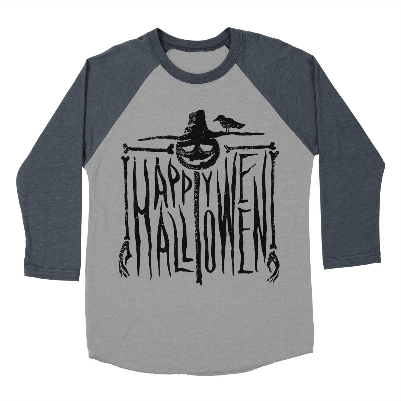 Scarecrow  Men's Baseball Triblend T-Shirt by artfanat.shop