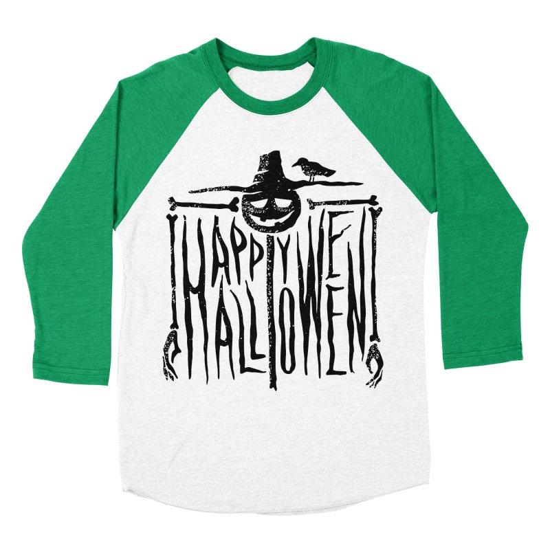 Scarecrow  Men's Baseball Triblend Longsleeve T-Shirt by artfanat.shop