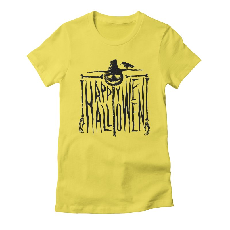 Scarecrow  Women's Fitted T-Shirt by artfanat.shop