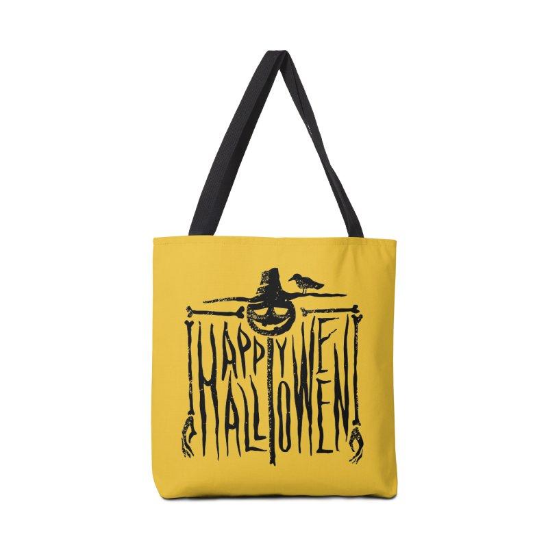 Scarecrow  Accessories Bag by artfanat.shop