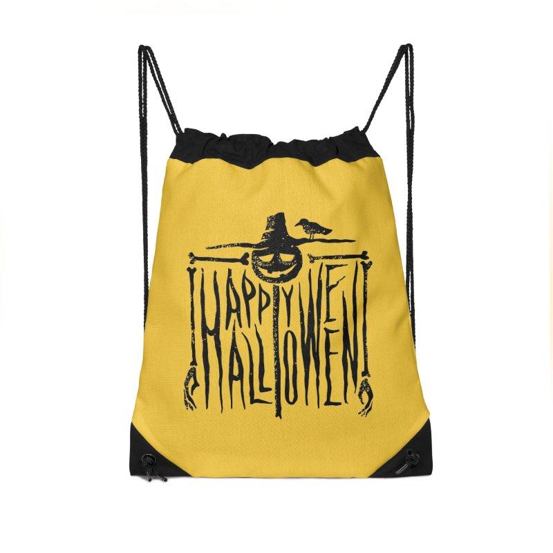 Scarecrow  Accessories Drawstring Bag Bag by artfanat.shop