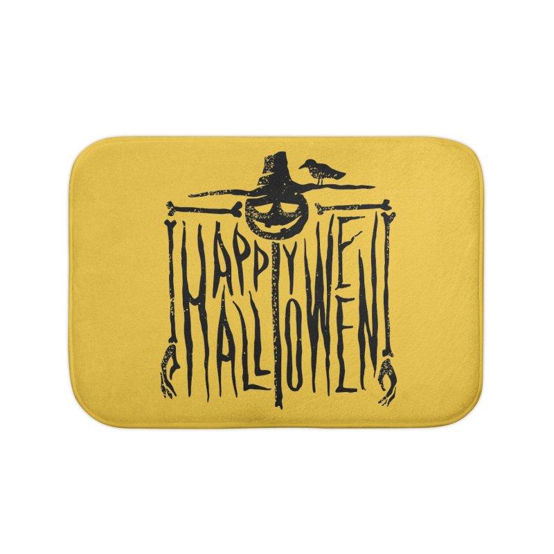 Scarecrow  Home Bath Mat by artfanat.shop