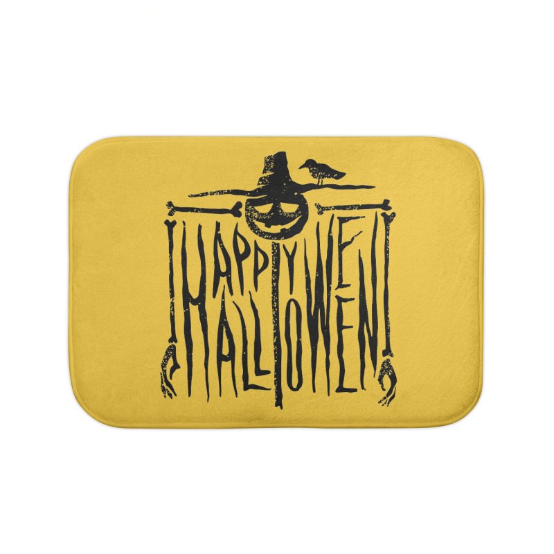 Scarecrow  Home Bath Mat by artfanat.shop