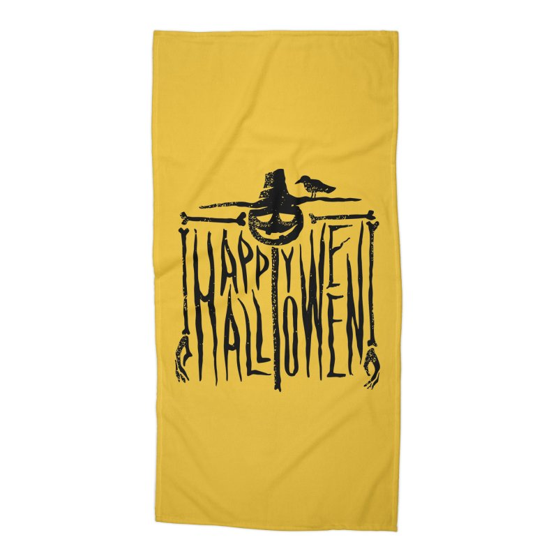 Scarecrow  Accessories Beach Towel by artfanat.shop