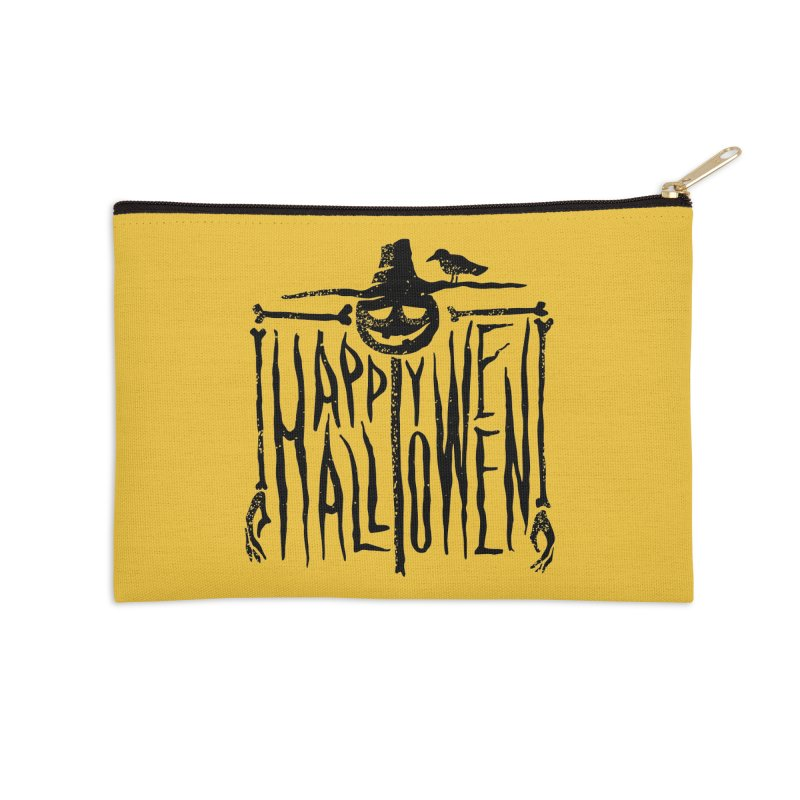 Scarecrow  Accessories Zip Pouch by artfanat.shop