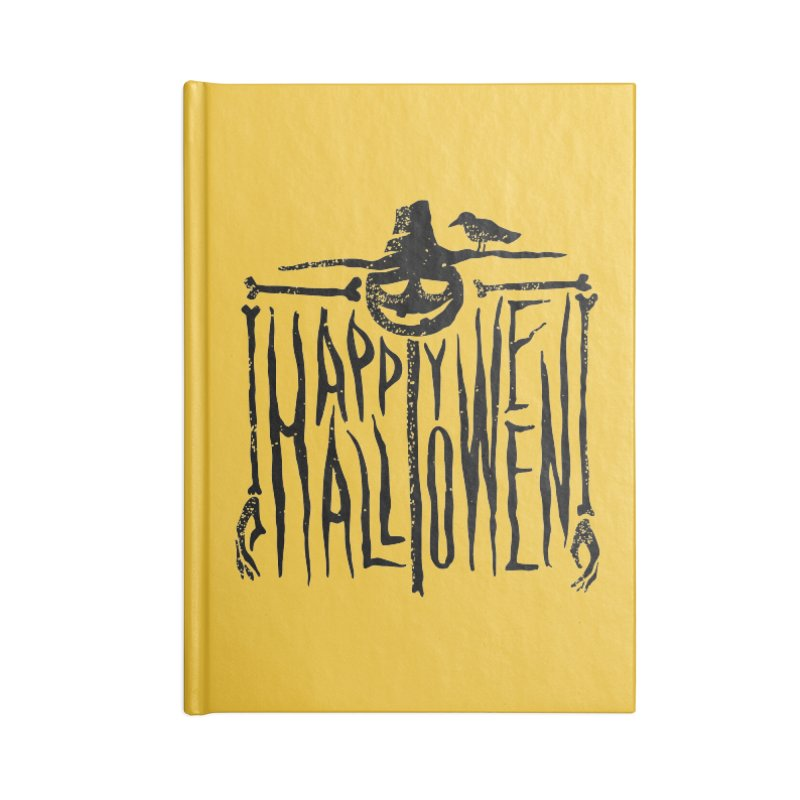 Scarecrow  Accessories Notebook by artfanat.shop
